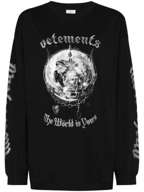 Vetements x Motörhead long-sleeve T-shirt
