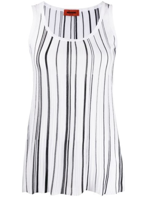 Missoni Striped-Print Vest Top Ss20 | Farfetch.com