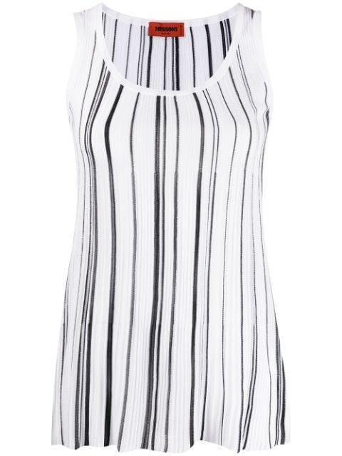 Missoni Striped-Print Vest Top Ss20 | Farfetch.com