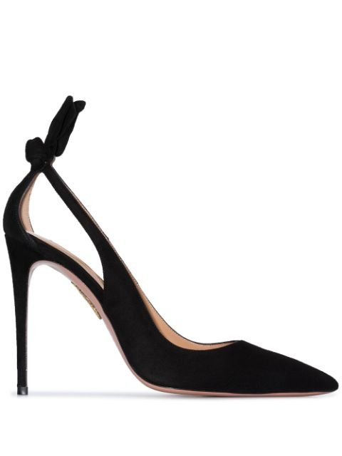 Aquazzura 105mm bow-detail Pumps