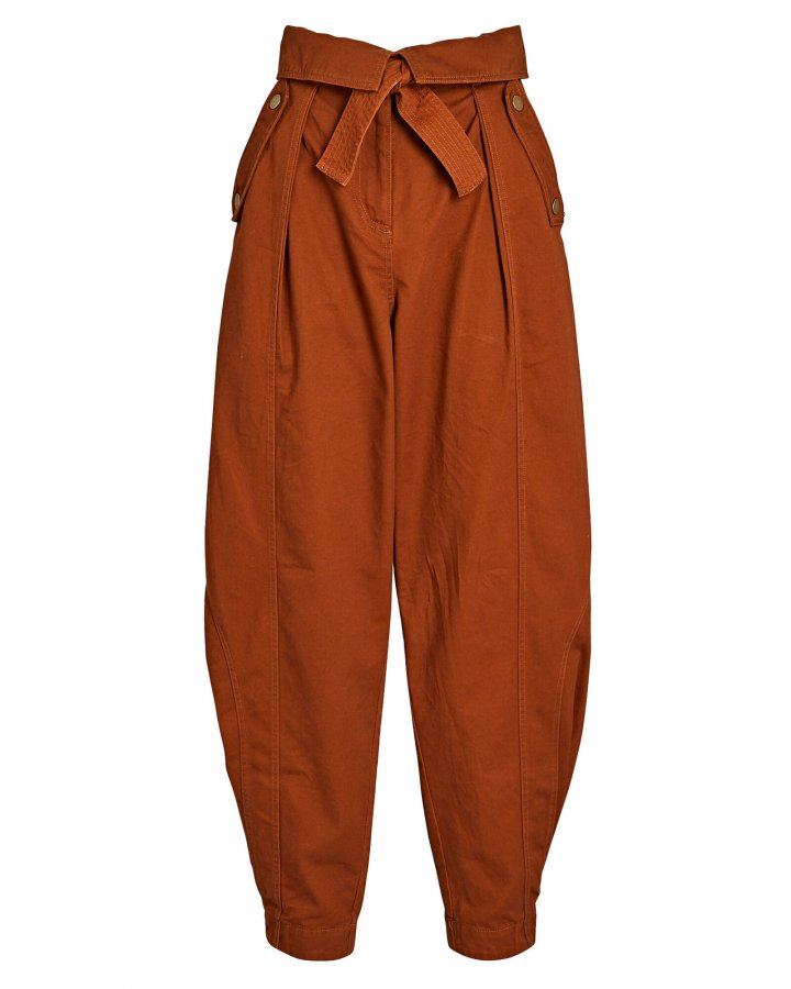 Rowen Tapered High-Rise Pants