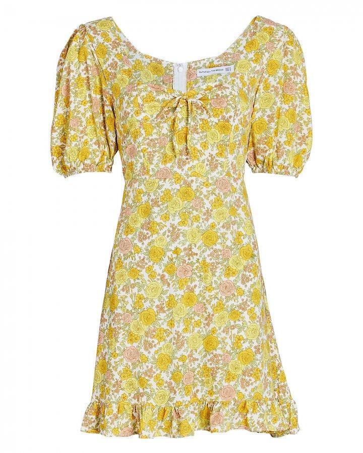 Agathe Floral Mini Dress