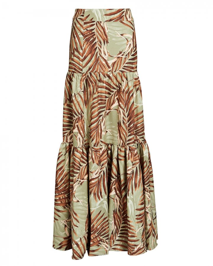Palmeira Printed Maxi Skirt