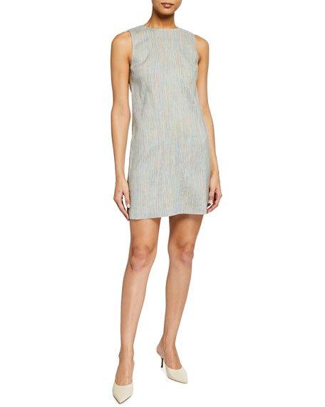 Easy Sleeveless Shift Dress