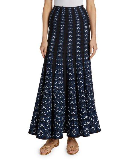 Campanelle Ribbon Maxi Skirt