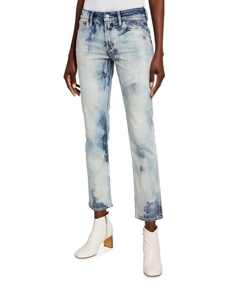 160 Slim-Leg Cropped Jeans