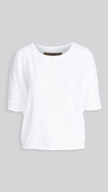 Recycled Jersey Slouch Tee