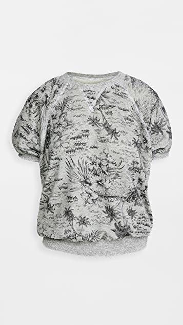 The Short Sleeve Puff Sweatshirt.