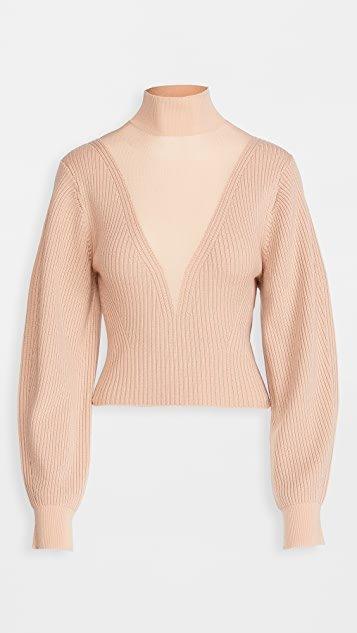 Merino Hosiery Sweater