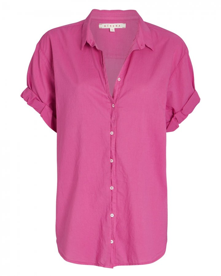 Channing Short Sleeve Button-Down Shirt