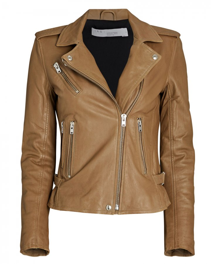 Newhan Leather Biker Jacket