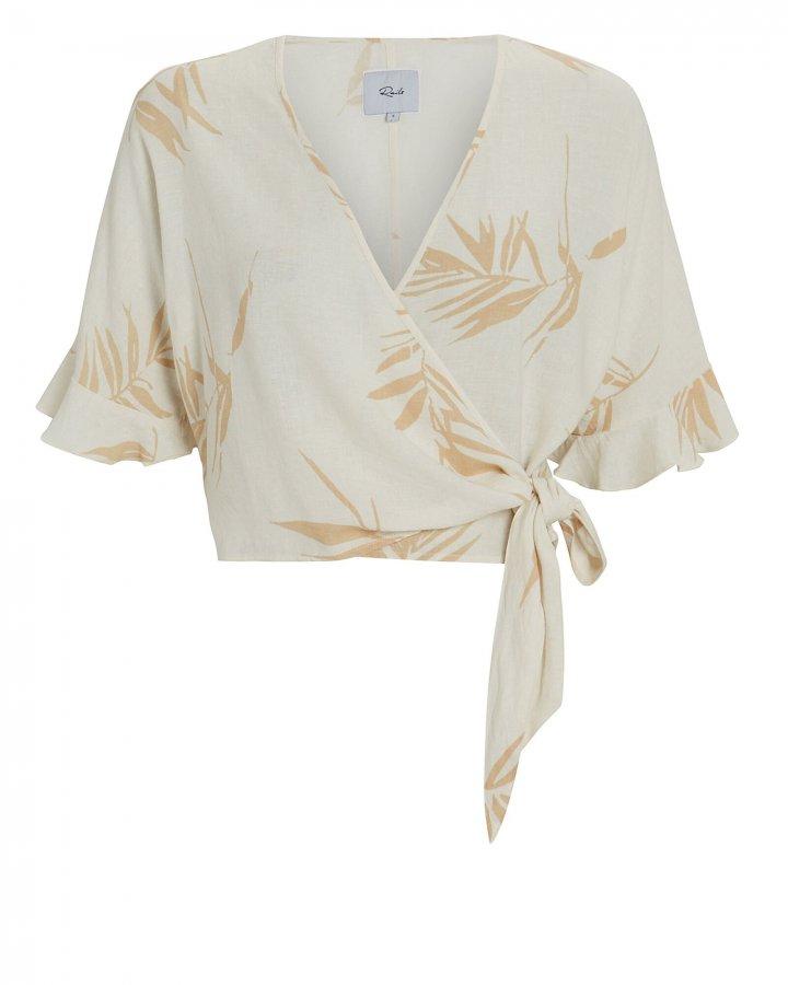Athena Palm Wrap Top