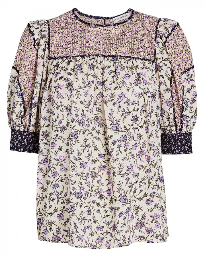 Stella Floral Puff Sleeve Top