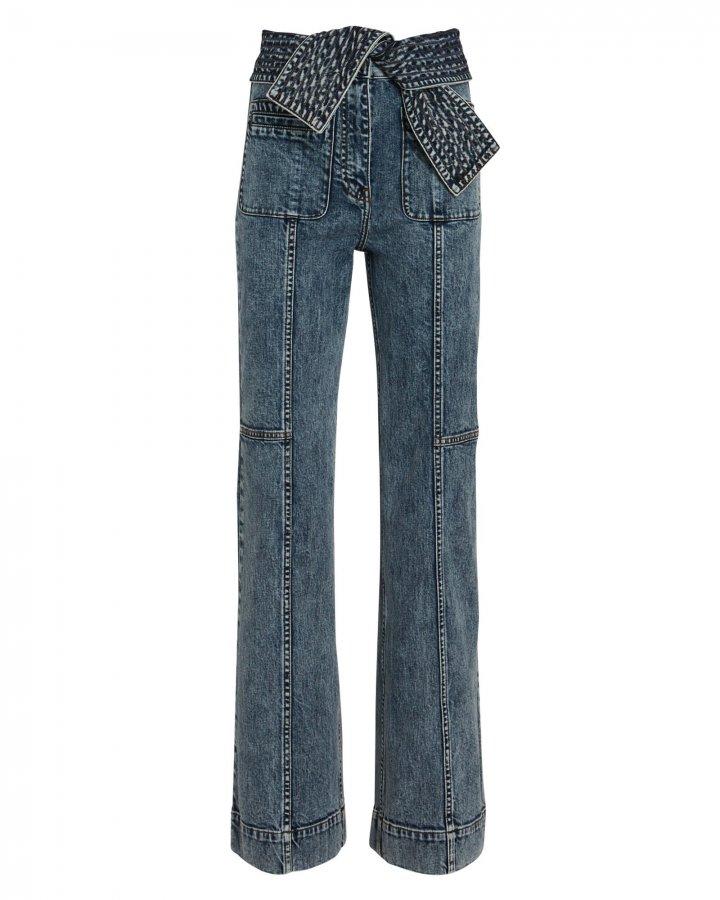 Wade Tie-Waist Jeans