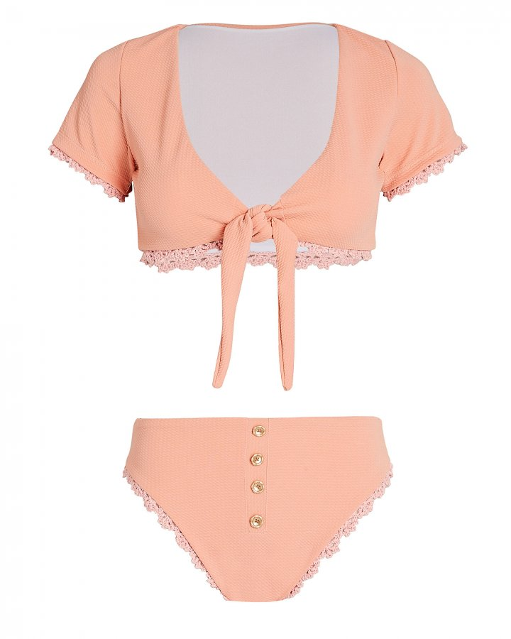 Margaux Tie-Waist Bikini Set