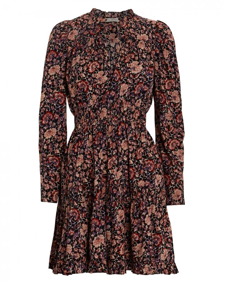 Liv Floral Mini Dress
