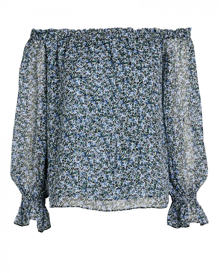 Thea Floral Off-the-Shoulder Top