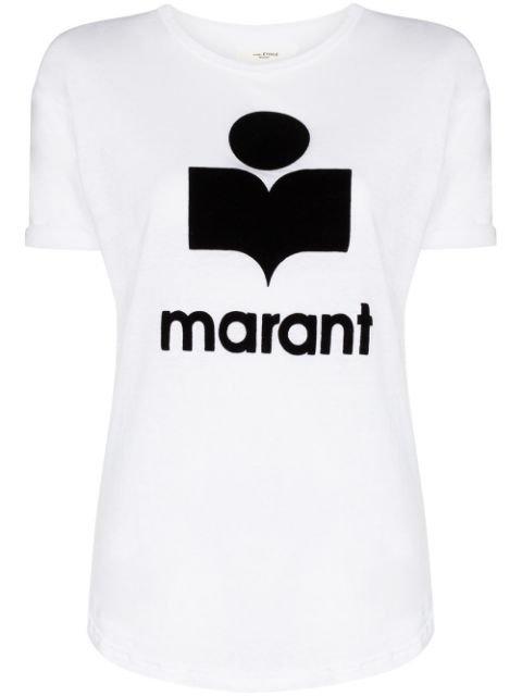 Isabel Marant Étoile Koldi Logo T-shirt