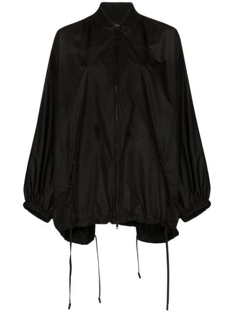Valentino Knit Detail Batwing Raincoat Ss20 | Farfetch.com