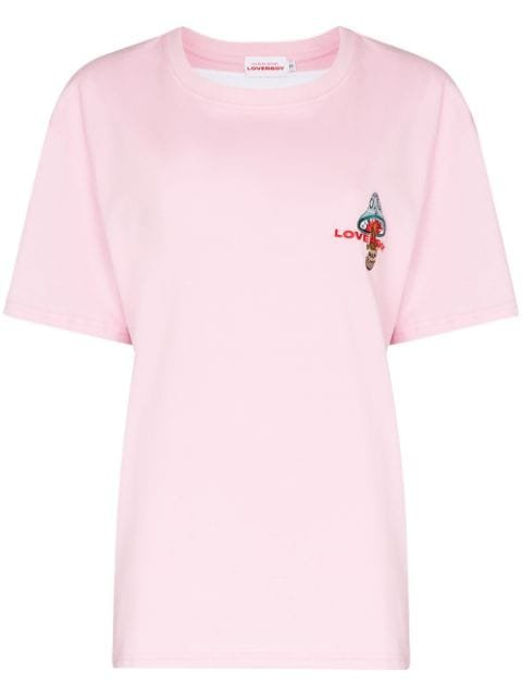 Charles Jeffrey Loverboy Art Gallery Embroidered T-shirt