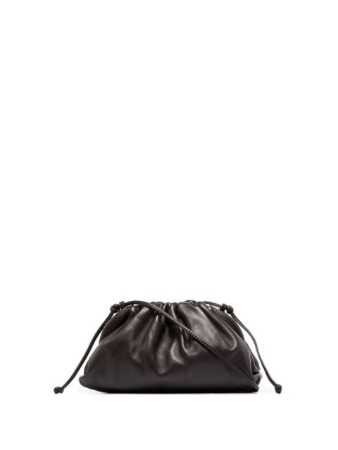 Bottega Veneta Brown The Mini Pouch Leather Clutch Bag