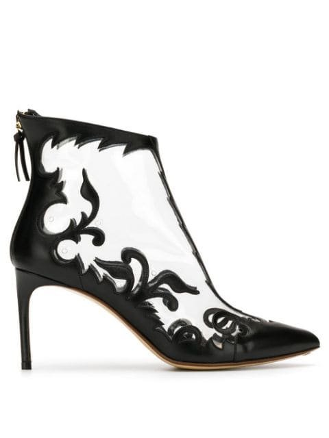 Francesco Russo Embroidered Detail Ankle Boots Aw18 | Farfetch.com