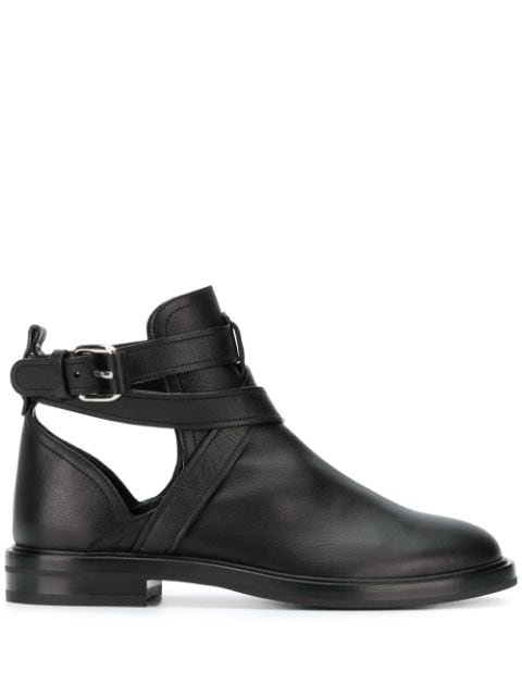 Casadei Crossover Straps Ankle Boots Ss20 | Farfetch.com