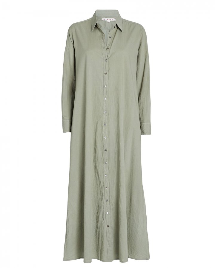 Boden Cotton Midi Shirt Dress