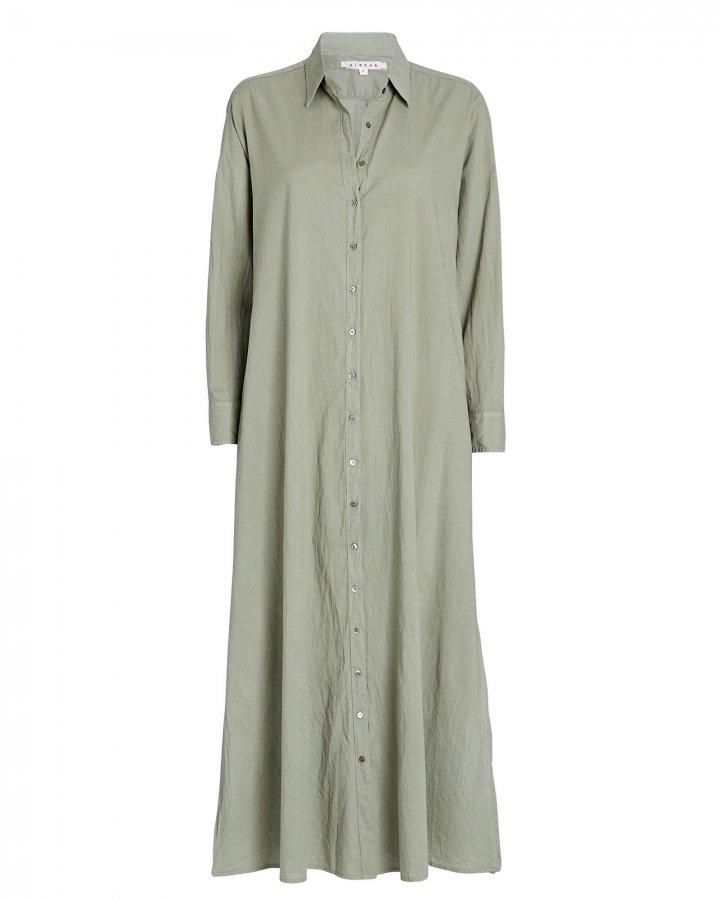 Boden Cotton Midi Shirt Dress