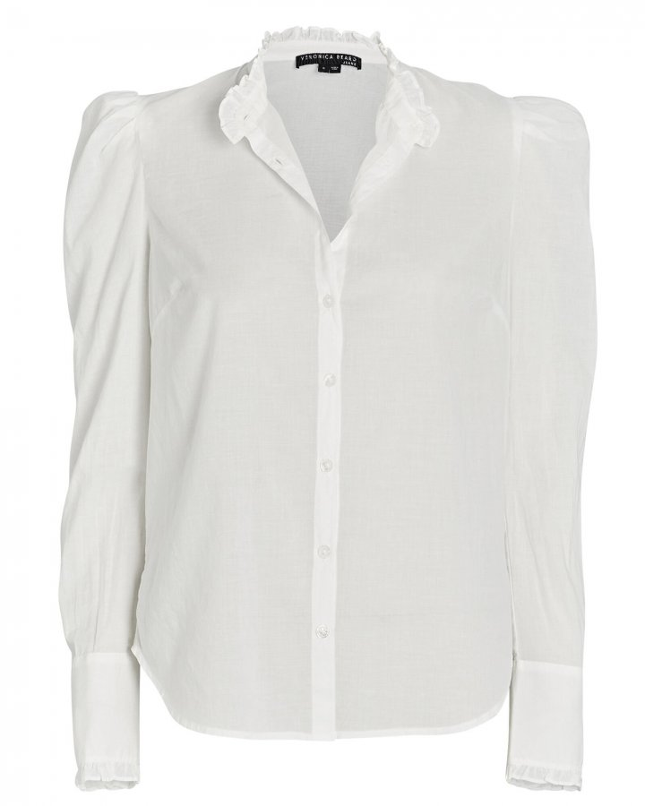 Holli Cotton Button-Down Shirt