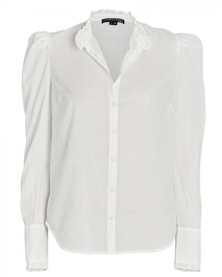 Holli Cotton Button-Down Shirt