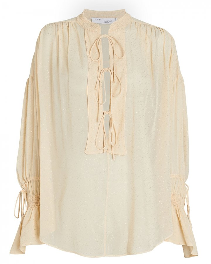 Shira Tie-Front Blouse