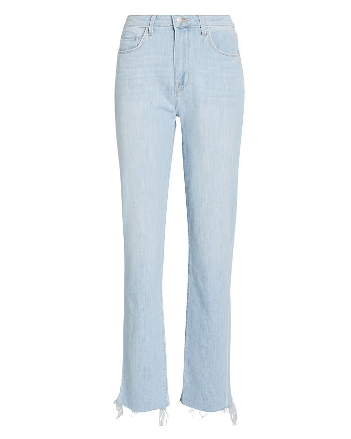 Lorelei High-Rise Straight-Leg Jeans