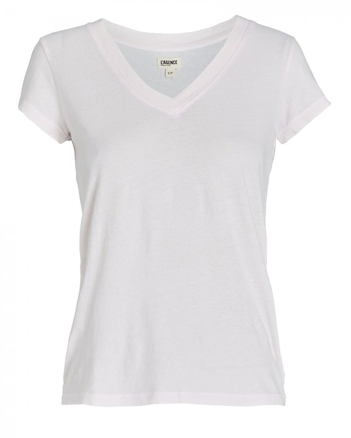 Becca V-Neck Cotton T-Shirt
