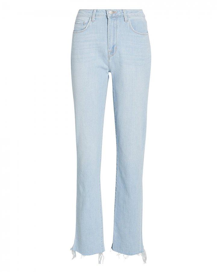 Lorelei High-Rise Straight-Leg Jeans