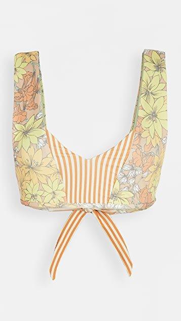 Milos Reversible Bikini Top