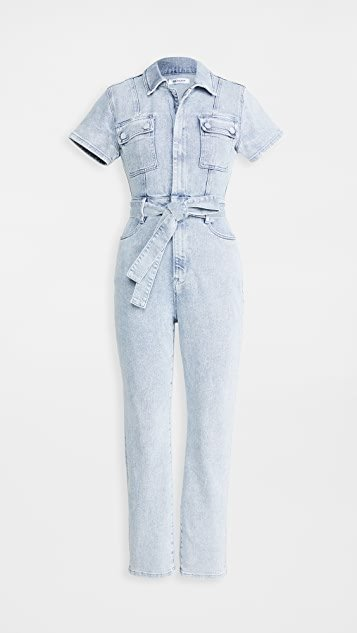 Fit For Success Belted Jumpsuit