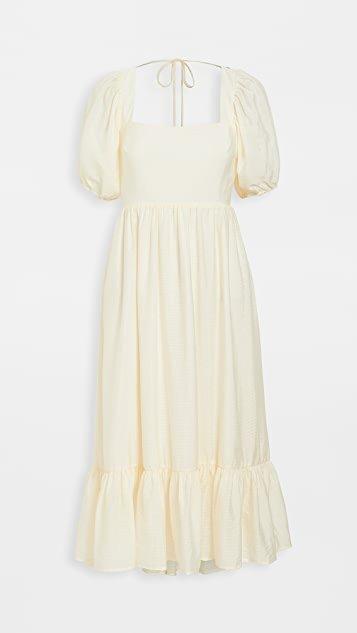 Lucca Midi Gathered Dress