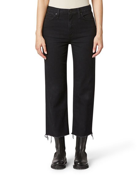 Remi High-Rise Crop Straight Jeans