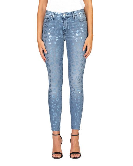 Carmen High-Rise Ankle Skinny Jeans