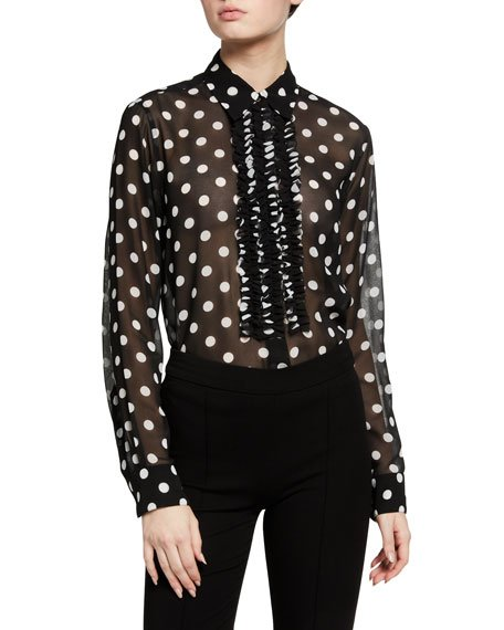 Chow Polka-Dot Top