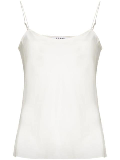 FRAME cowl-neck Camisole Top