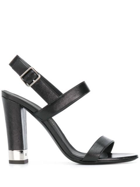 Giuseppe Zanotti Buckled Chunky-Heel Sandals Ss20 | Farfetch.com