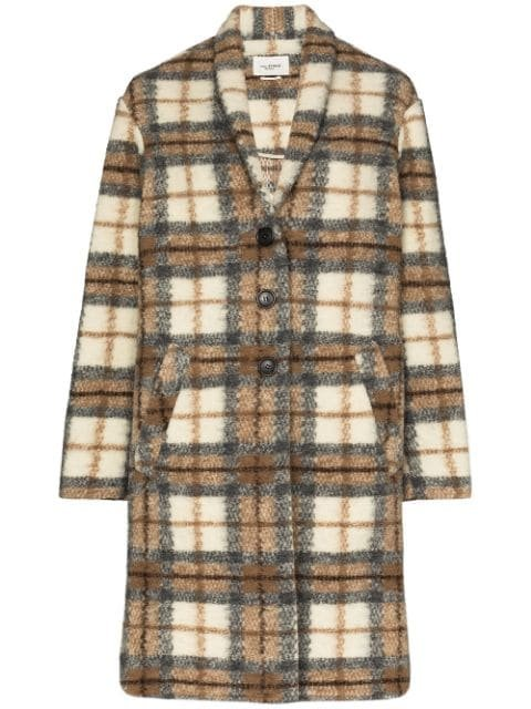 Isabel Marant Étoile Gabriel Checked single-breasted Coat