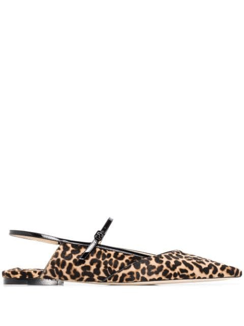 Jimmy Choo Ree leopard-print Pumps