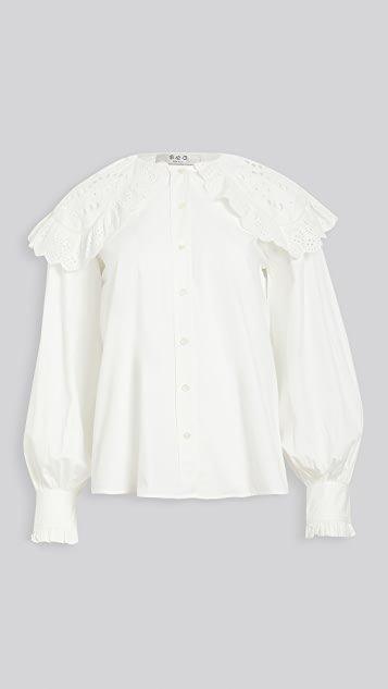 Marina Lace Collar Shirt