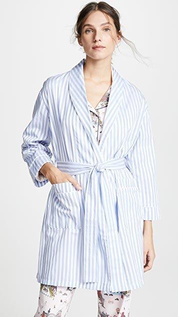 Blue Stripe Robe