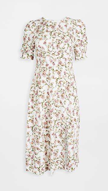 Allete Floral Midi Dress