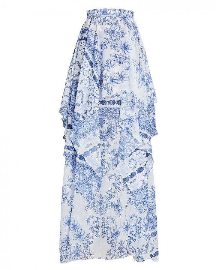 Amalfi Chiffon Maxi Skirt