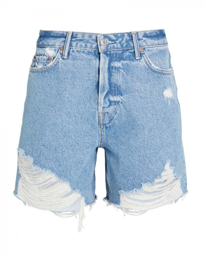 Jourdan Cut-Off Denim Shorts